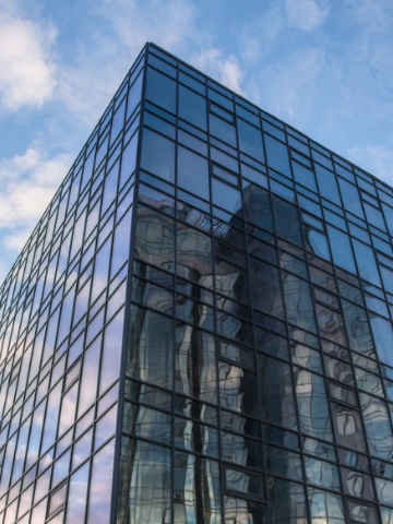 Світлопрозорий алюмінієвий фасад